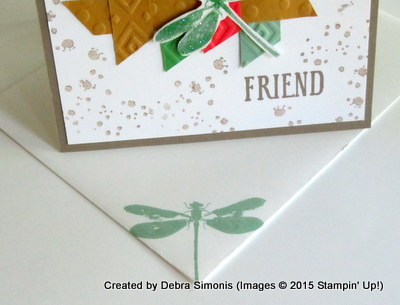 July Blog Hop Envelope