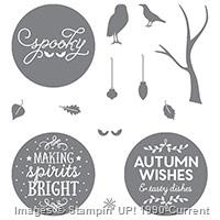 Among the Branches stamp set