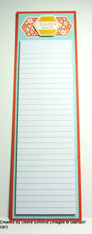 PPA268 note pad