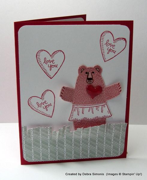 Bear Hug Pink Valentine