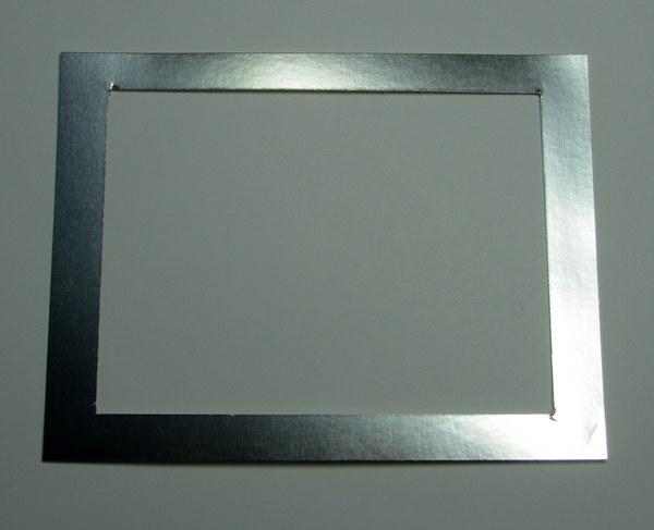 Jan 2016 Blog Hop Silver Foil Frame