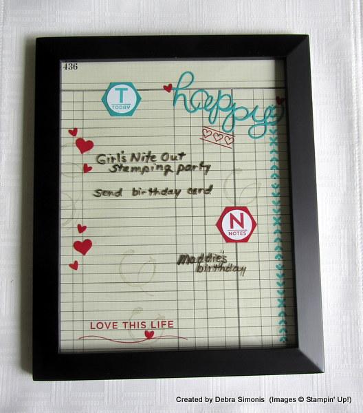 April Blog Hop with dry erase
