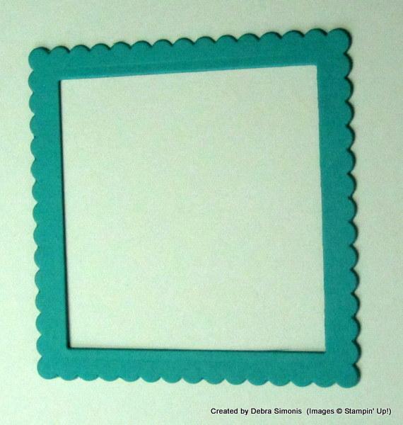 Shaker Card Frame
