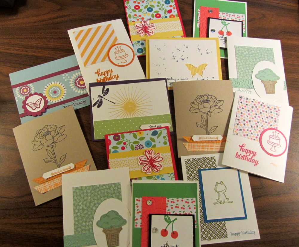 Cards by Jack and Maddie