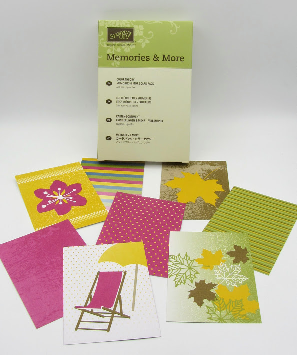 Memories & More Color Theory cards