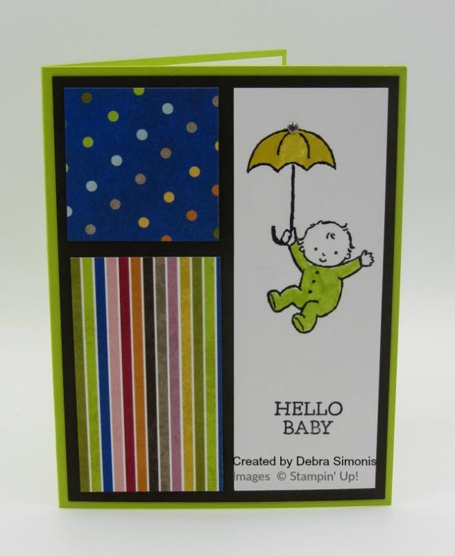Stampin-Up-Moon-Babies-Baby Card-Debra-Simonis-Stampinu