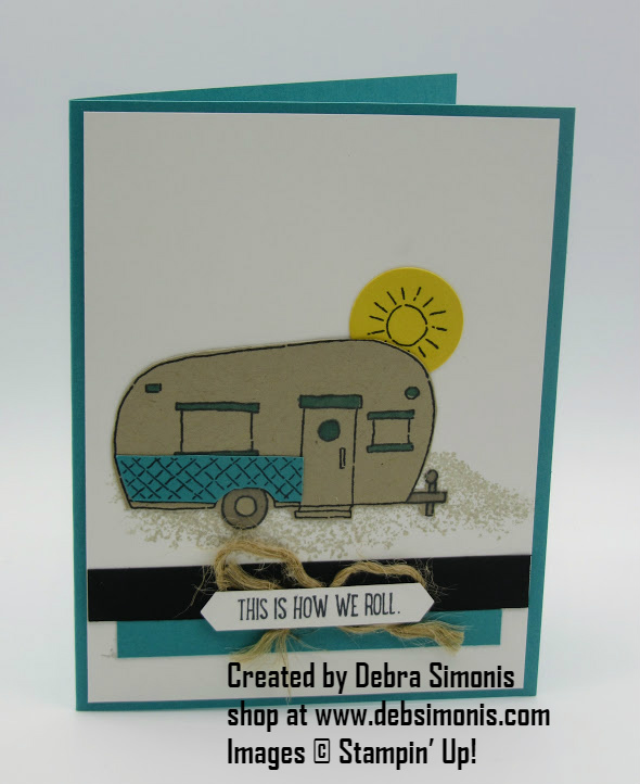 Stampin-Up-Glamper-Greetings-This-is-how-we-roll-Debra-Simonis-Stampinup