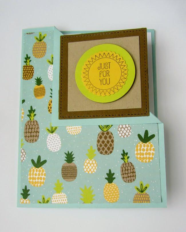 Stampin Up A Good Day Tutti-Frutti Designer Series Paper - Debra Simonis Stampinup