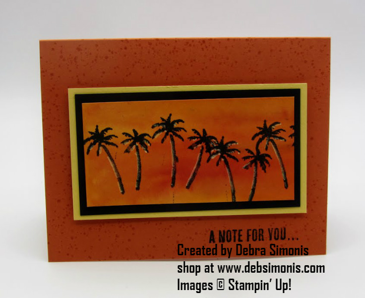 Stampin-Up-Waterfront-Wood-Words-stamp-set-Brush-o-thinking-of-you-card-palm-trees-Debra-Simonis-Stampinup