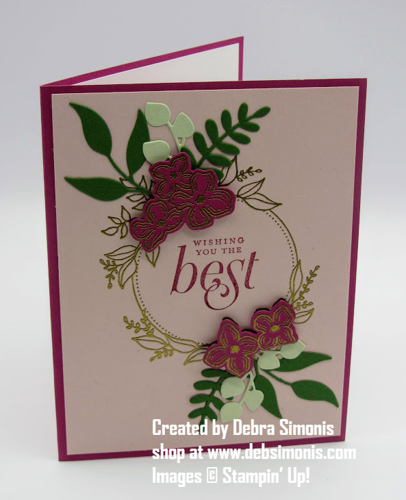 Stampin-Up-Floral-Frame-stamp-set-Foilage-Frame-Freamelits-wedding-birthday-card-Debra-Simonis-Stampinup