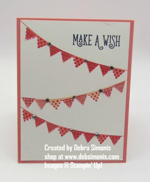 Stampin-Up-Pick-a-Pennant-Happy-Birthday-Gorgeous-happy-birthday-card-s-Debra-Simonis-Stampinup