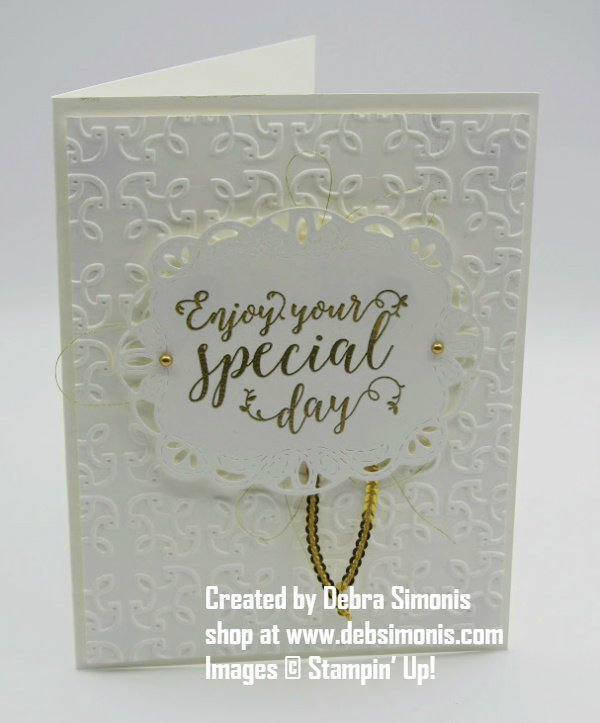Stampin-Up-Stitched-All-Around-stamp-set-Stitched-Labels-Framelits-wedding-card-Debra-Simonis-Stampinup