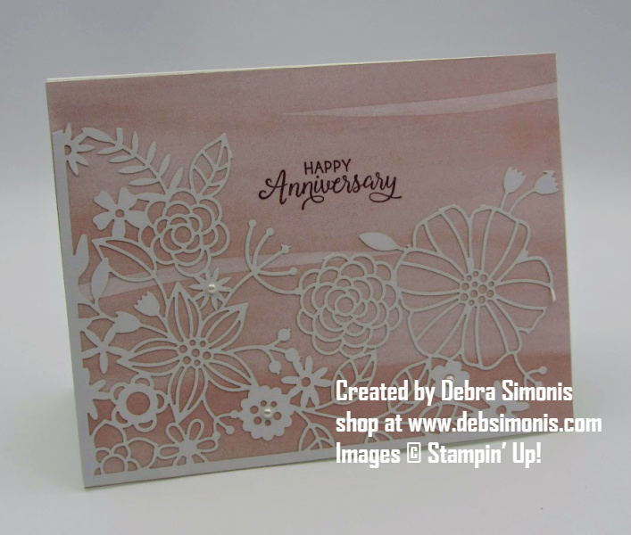 Stampin-Up-Beautiful-Bouquet-stamp-set-Delightfully-Detailed-Laser-Cut-Paper-anniversary-card-Debra-Simonis-Stampinup