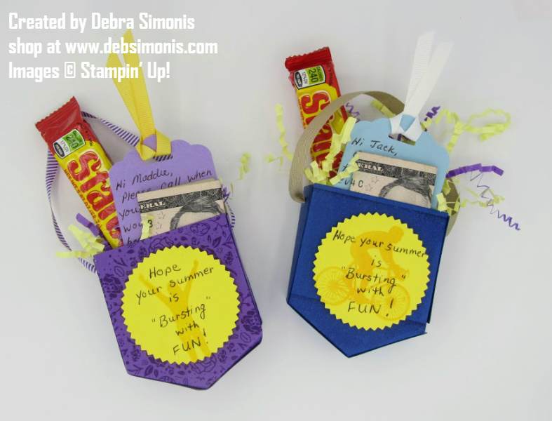Stampin-Up-Pocket-Framelits-dies-treat-container-hope-your-summer-is-bursting-with-fun-Debra-Simonis-Stampinup