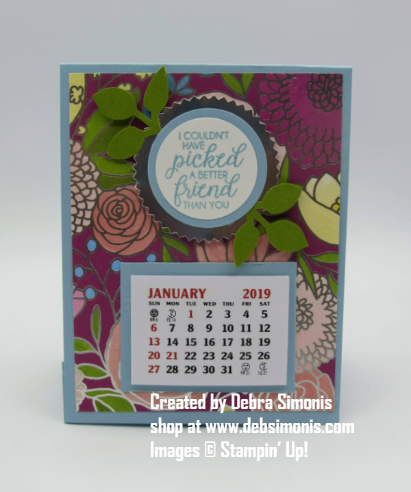 Stampin-Up-Beautiful-Bouquet-3D-Calendar-Card-Debra-Simonis-Stampinup