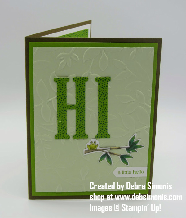 Stampin-Up-Itty-Bitty-Words-Large-Letters-Framelits-Animal-Expedition-designer-series-paper-hello-card-Debra-Simonis-Stampinup