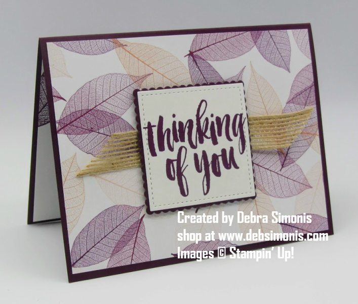 Stampin-Up-Rooted-in-Nature-stamp-set-Natures-Poem-designer-series-paper-masculine-thinking-of-you-card-Debra-Simonis-Stampinup