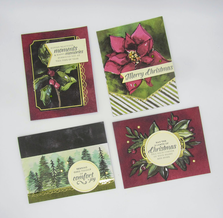 Stampin-Up-Timeless-Tidings-Project-Kit-christmas-cards-Debra-Simonis-Stampinup