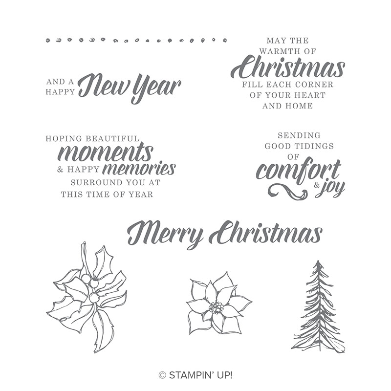 Timeless Tidings stamp set by Stampin' Up!
