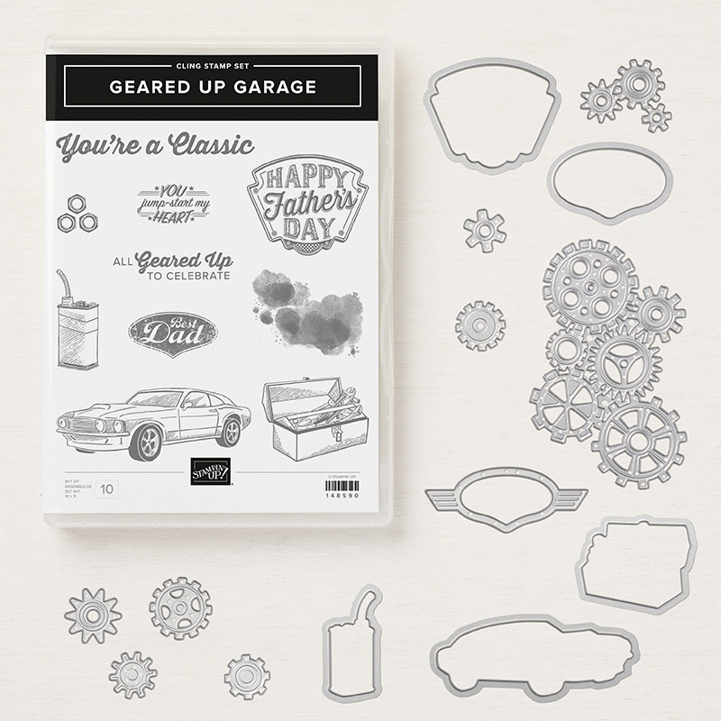 Stampin Up Geared Up Garage Bundle Debra Simonis