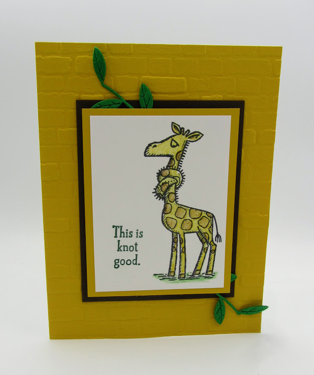 Stampin-Up-Back-on-Your-Feet-stamp-set-Brick-Mortar-3D-Embossing-Folder-Leaf-Ribbon-giraffe-get-well-card-Debra-Simonis-Stampinup
