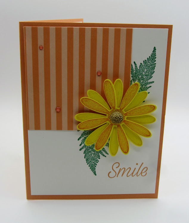 Stampin-Up-Daisy-Lane-stamp-set-Daisy-Punch-smile-card-Debra-Simonis-Stampinup