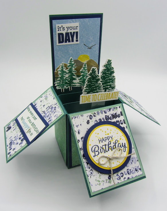 Stampin-Up-Waterfront-stamp-set-Rooted-in-Nature-stamp-set-Natures-Roots-Dies-Card-in-a-Box-masculine-birthday-card-mountains-Debra-Simonis-Stampinup