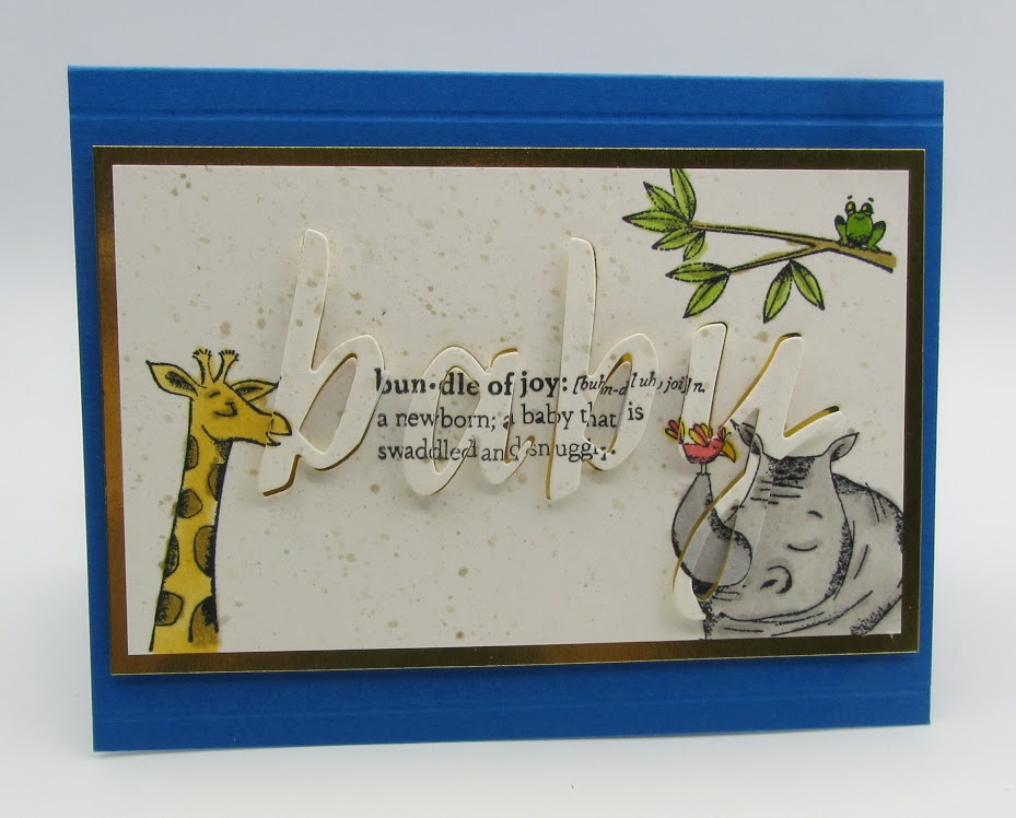 Stampin-Up-Animal-Outing-Praiseworthy-Prose-Hand-lettered-Prose-Dies-new-baby-card-Debra-Simonis-Stampinup