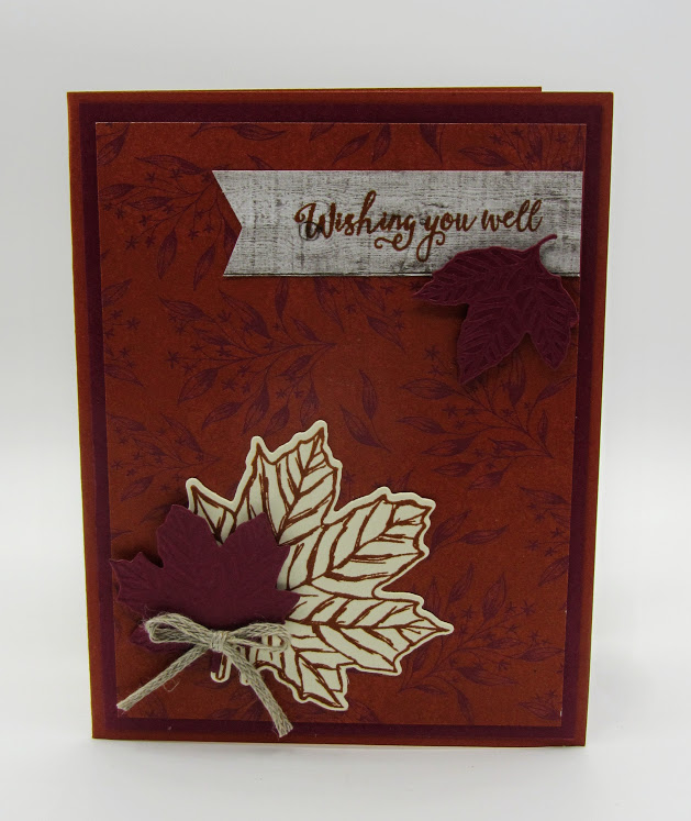 Stampin-Up-Gather-Together-stamp-set-Gathered-Leaves-Dies-Banner-Triple-Punch-Come-to-Gather-DSP-wishing-you-well-get-well-card-Debra-Simonis-Stampinup