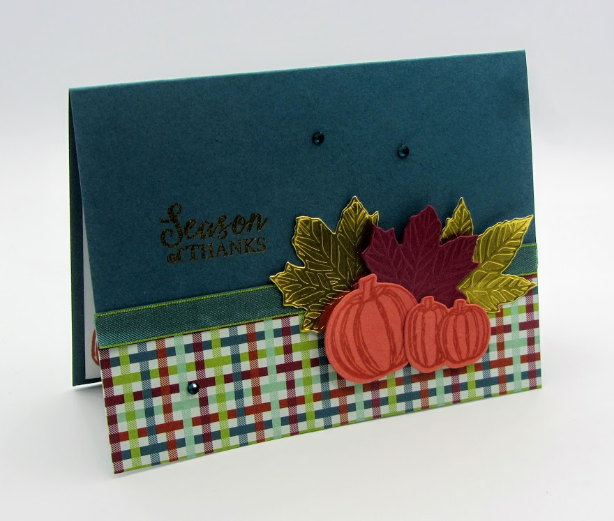 Stampin-Up-Gather-Together-stamp-set-Gathered-Leaves-Dies-Come-to-Gather-DSP-thanksgiving-card-Debra-Simonis-Stampinup