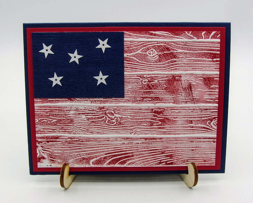 Stampin-Up-Pinewood-Planks-Subtle-Embossing-Folder-patriotic-united-states-flag-card-Never-Forgotten-Honor-Flight-card-idea-Debra-Simonis-Stampinup