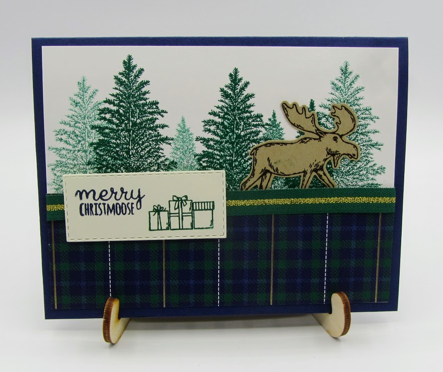 stampin-Up-Merry-Moose-stamp-set-Moose-Punch-Stitched-Rectangles-Dies-Wrapped-in-Plaid-designer-series-paper-Debra-Simonis-Stampinup