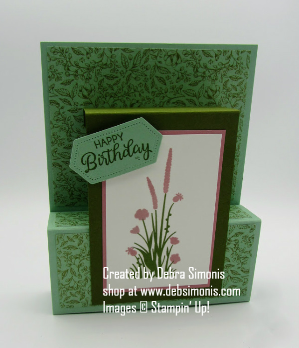 Stampin-Up-Friend-Like-You-Stitched-Nested-Labels-Dies-fancy-fold-birthday-card-Debra-Simonis-Stampinup