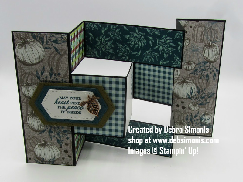 Stampin-Up-Heres-a-Card-Stitched-Nested-Labels-Come-to-Gather-Designer-Series-Paper-sympathy-card-tri-fold-shutter-card-Debra-Simonis-Stampin