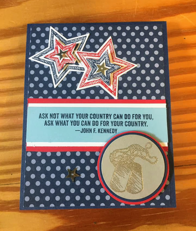 Stampin-Up-Fo r Your Country - Be the starNever-Forgotten-Honor-Flight-Debra-Simonis-Stampinup