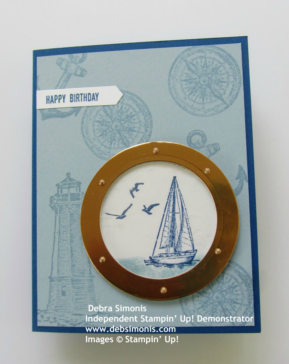 Stampin-Up-Sailing-Home-port-hole-sail-boat-masculine-birthday-Debra-SImonis-Stampinup