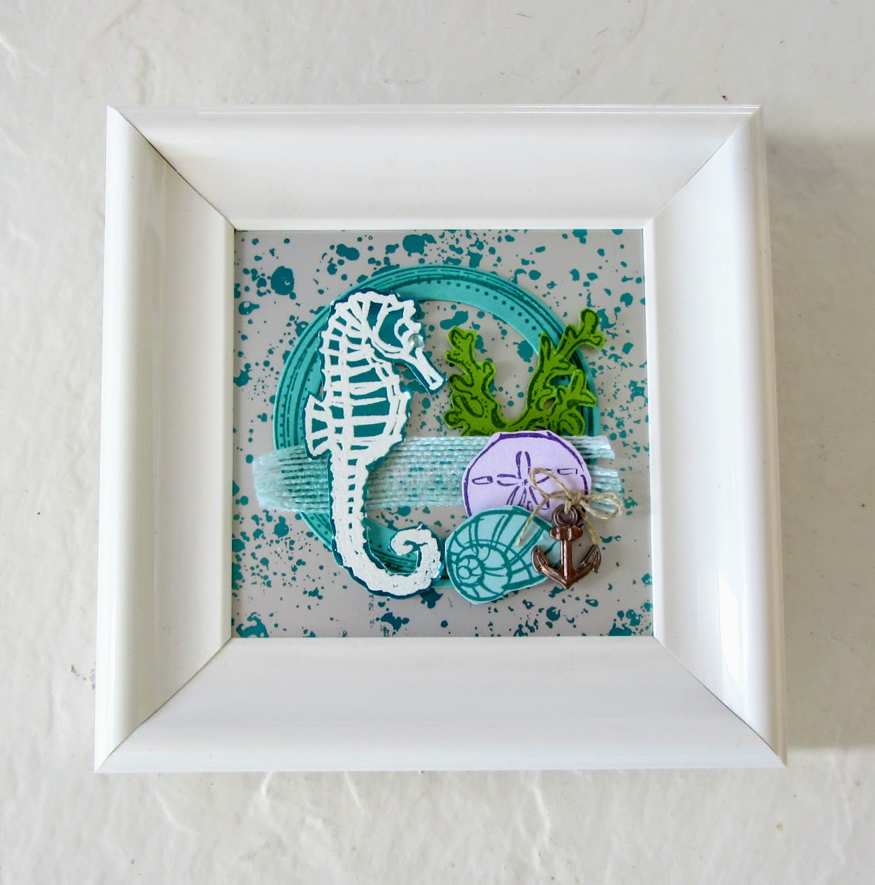 Stampin-Up-Seaside-Notions-Swirly-Frames-Mercury-Acetate-Pals-Blog-Hop-Layer-it-Up-home-decor-framed-art-project-Debra-Simonis-Stampinup