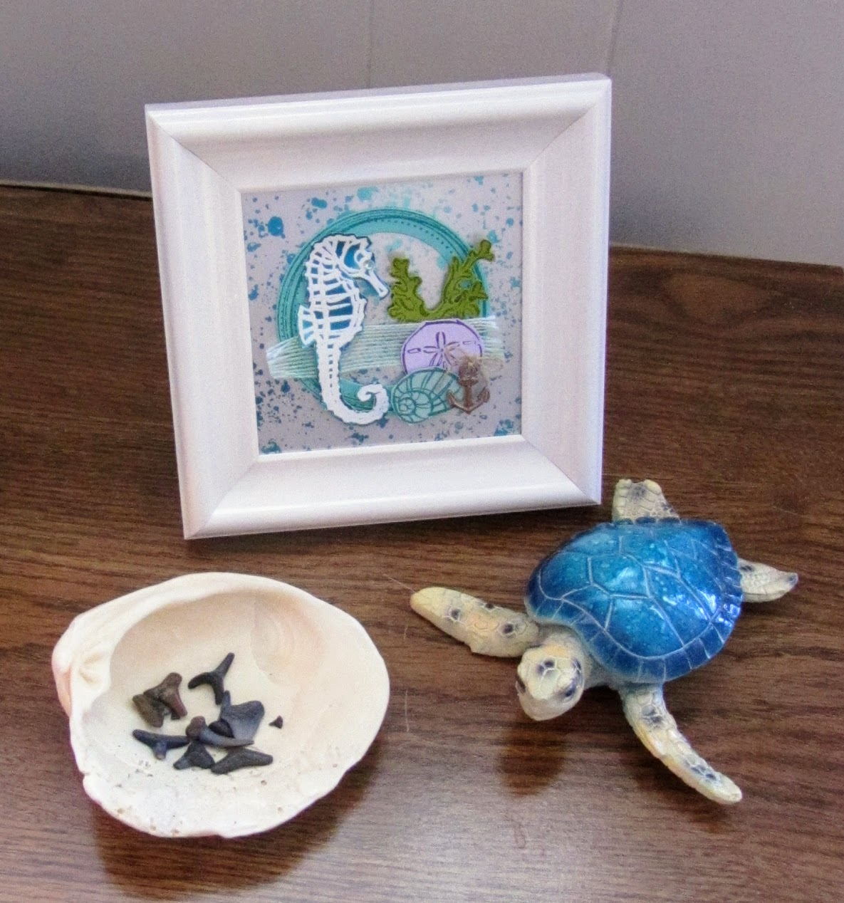 Stampin-Up-Seaside-Notions-Vignette-of-Framed-Art.