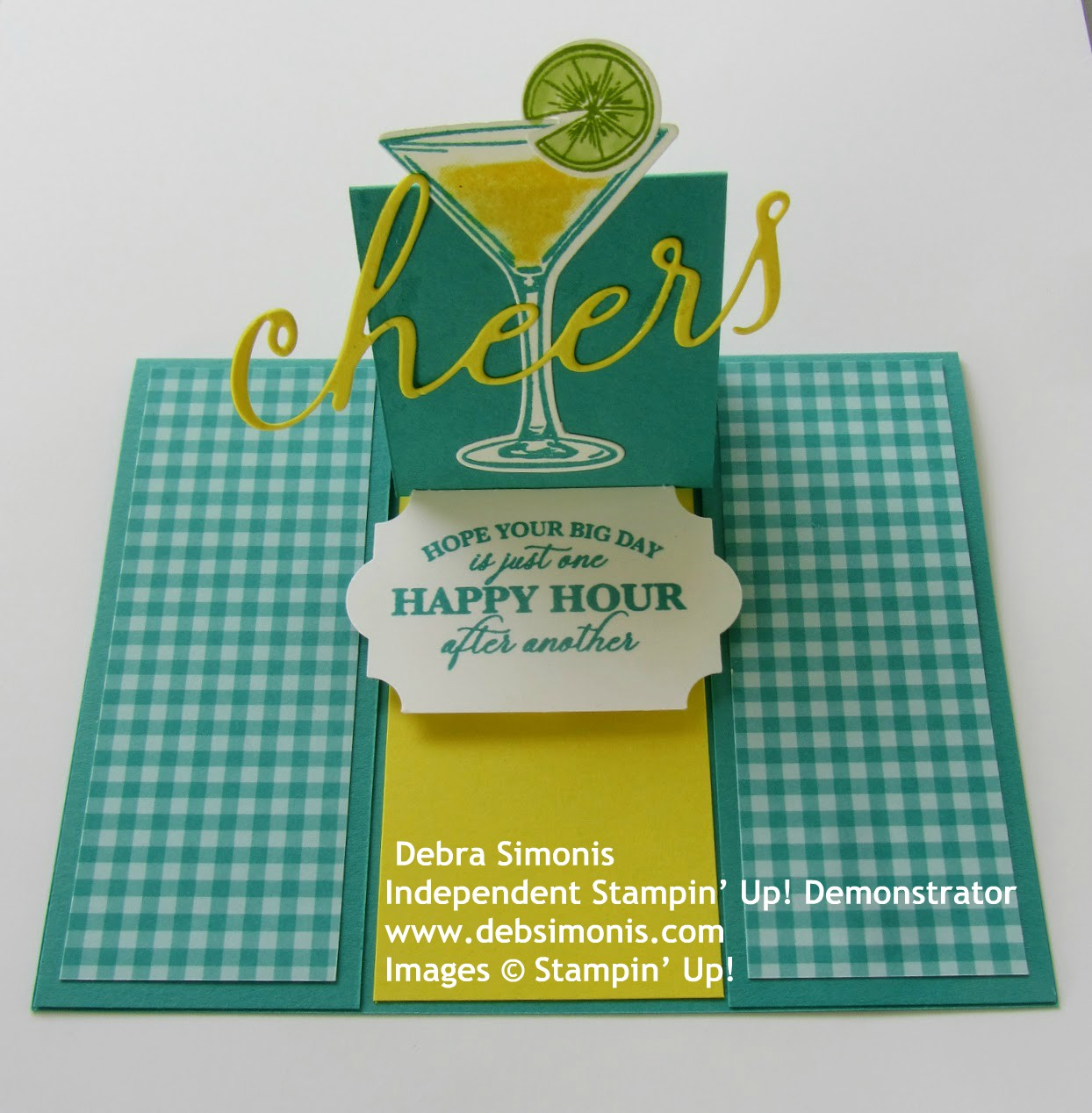 Stampin-Up-Sip-Sip-Hooray-stamp-set-Sip-Celebrate-Dies-Cheers-Dies-happy-hour-birthday-card-Debra-Simonis-Stampinup