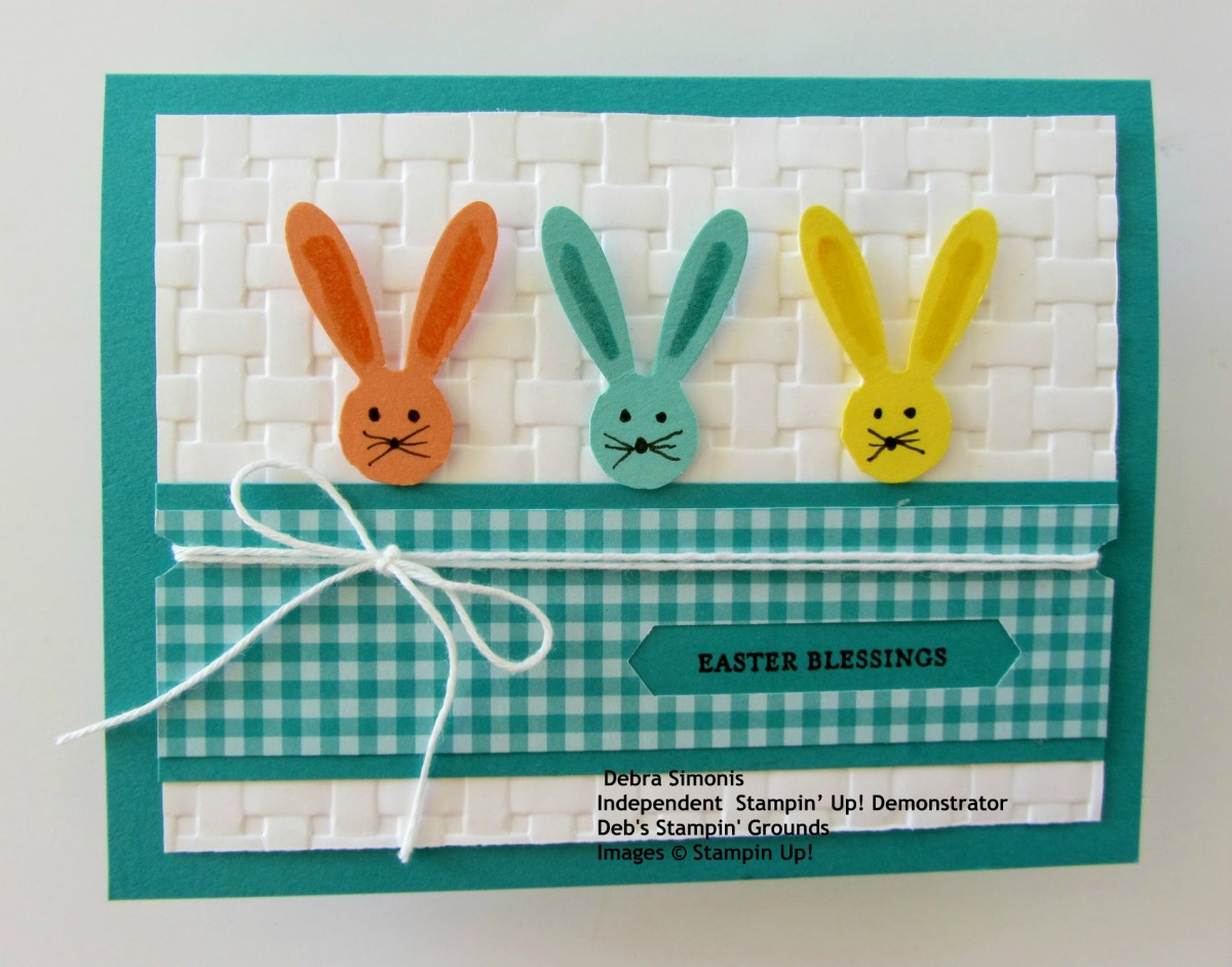 Stampin-Up-Itty-Bitty-Greetins-Daisy-Punch-Easter-Bunny-card-Debra-Simonis-Stampinup