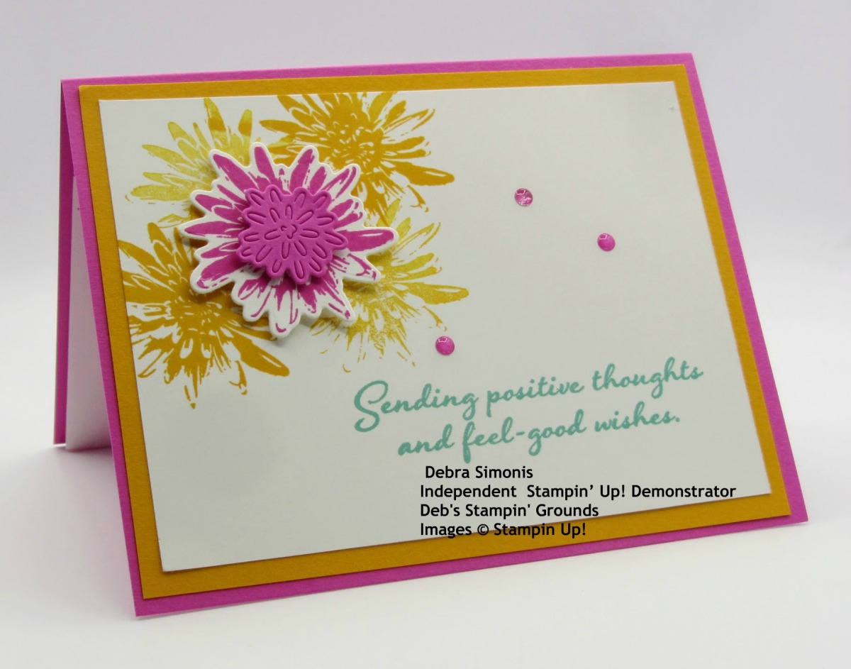 Stampin-Up-Positive-Thoughts-stamp-set-Natures-Thoughts-Dies-thinking-of-you-card-Debra-Simonis-Stampinup