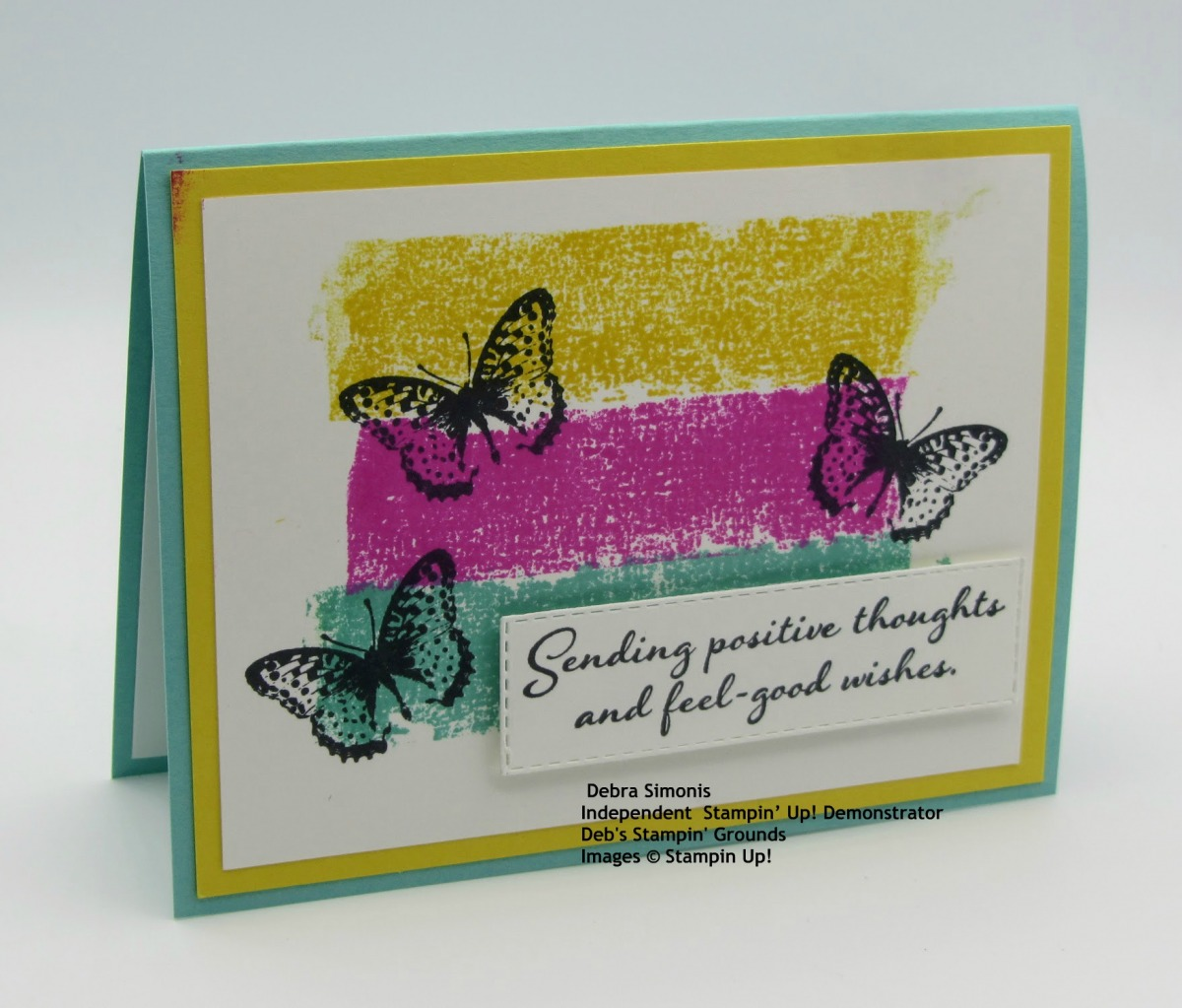 Stampin-Up-Positive-Thoughts-Stitched-Rectangle-Dies-thinking-of-you-masking-tape-technique-Debra-Simonis-Stampinup-1