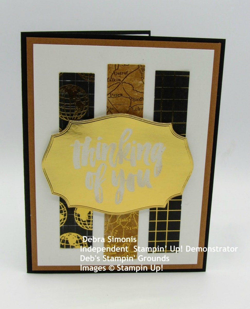 Stampin-Up-Rooted-in-Nature-tasteful-Labels-Dies-heat-embossing-thinking-of-you-masculine-card-World-of-Good-Patterned-Paper-Debra-Simonis-Stampinup