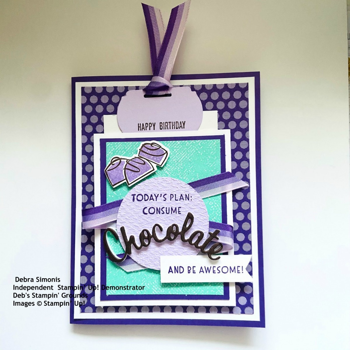 Stampin-Up-Nothings-Better-Than-Itty-Bitty-Greetings-Love-You-More-Than-Dies-Label-Me-Fancy-Punch-Birthday-Card-with-tag2-Debra-Simonis-Stampinup