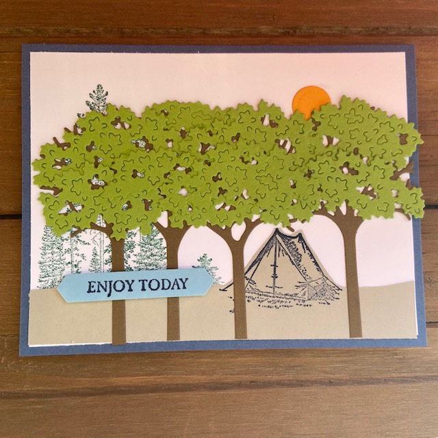 Stampin-Up-Campology-Inspiring-Canopy-Dies-camping-theme-enjoy-today-birthday-masculine-theme-card-Debra-Simonis-Stampinup