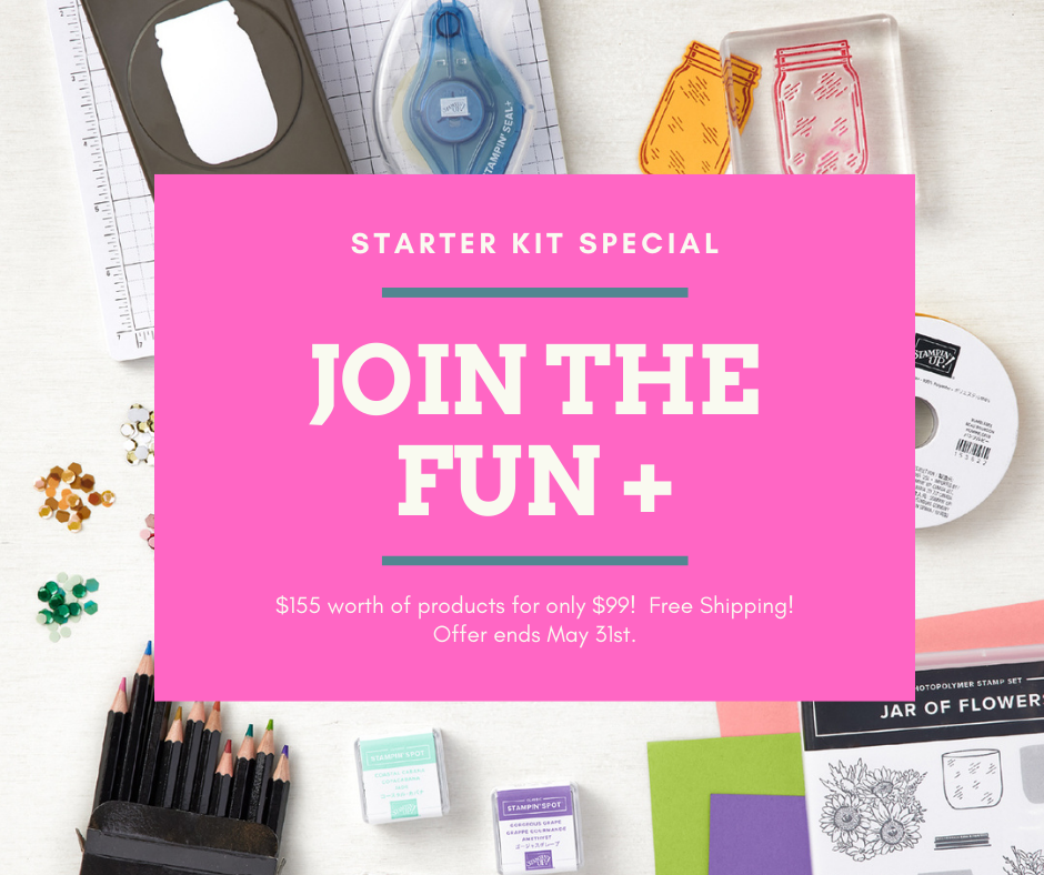 Stampin' Up! Starter Kit Special - Join the Fun