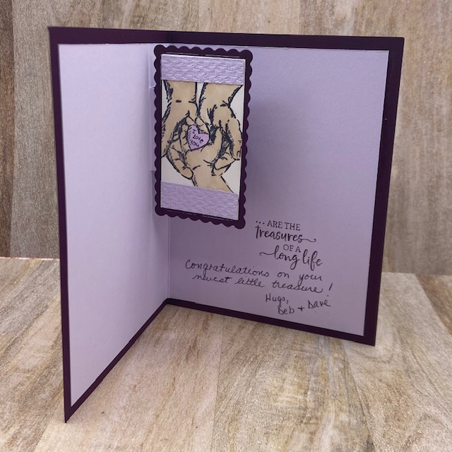 Stampin-Up-Treasures-of-LIfe-Stitched-So-Sweetly-Dies-grandchildren-new-grandparent-card-inside-view-Debra-Simonis-Stampinup