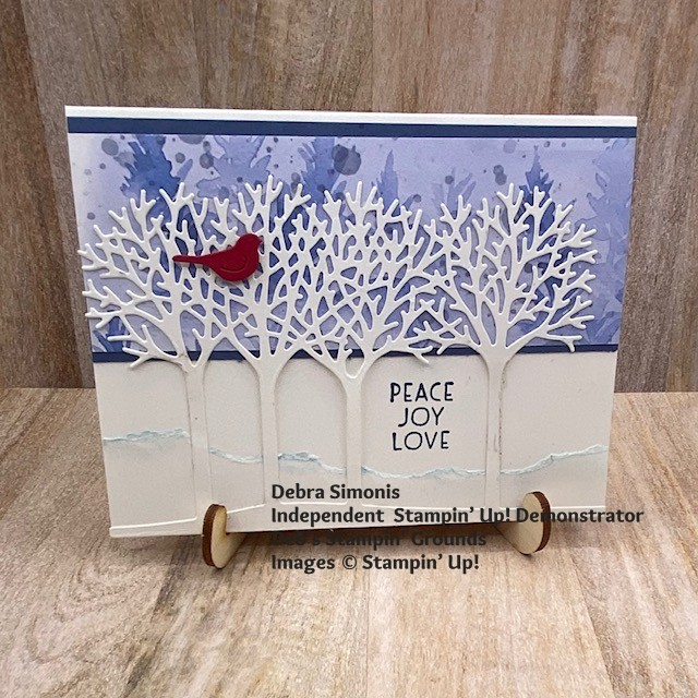 Stampin-Up-Inspired-Thoughts-stamp-set-Inspiring-Canopy-Dies-Beautiful-Trees-Dies-Christmas-card-Debra-SImonis-Stampinup