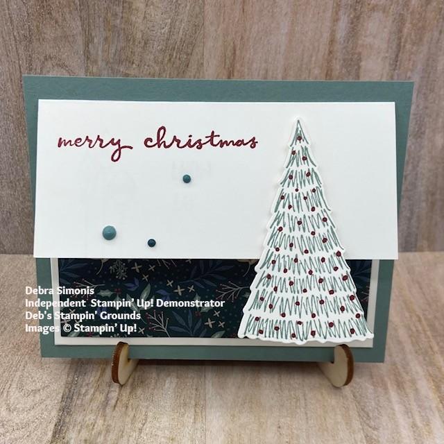 Stampin-Up-Whimsical-Trees-stamp-set-Christmas-Trees-dies-Christmas-gift-card-holder-Debra-Simonis-Stampinup